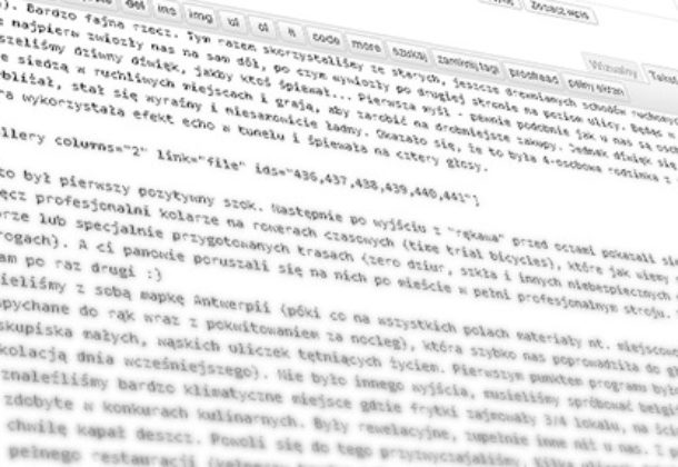 Bug w WordPress 3.5.1 przy galeriach fotografii