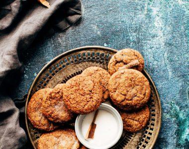 Ciasteczka owsiane z cynamonem